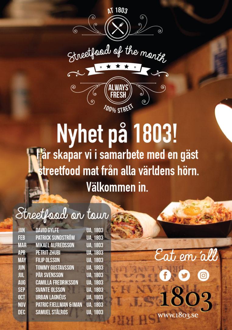 Streetfood på 1803